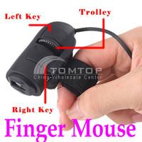 Wholesale USB D Mini Optical Finger Mouse Mice for Laptop Notebook PC DPI Novelty Item