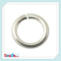Wholesale Beadsnice open jump ring silver jewelry making jump rings handmade jewelry material ID