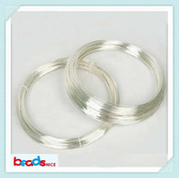 silver wire - Beadsnice ID26883 Min order is mix order diy jewelry of silver wire ga round solid sterling silver beading wire