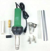 Wholesale 1500w Plastic Welder Gun Hot Air Vinyl Bonus Speed Welding Nozzle ExtraHE Rod