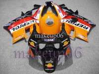 Wholesale Customized fairing REPSOL black white red Yellow ABS Fairing for CBR600F2 Body Kit Fairing for Honda CBR600 F CBR F2