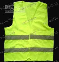 Wholesale LLFA1554 reflective safety vest coat Sanitation vest Traffic safety warning clothing vest