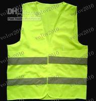 Wholesale LLFA1554 reflective safety vest coat Sanitation vest Traffic safety warning clothing vest