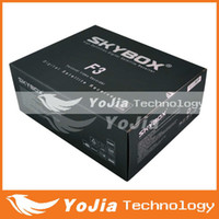 Wholesale 2pcs Original Skybox F3 pi Full HD digital satellite receiver support USB Wifi cccamd YouTube YouPorn