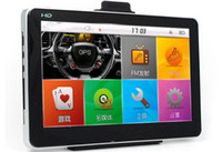 Wholesale 7 Inch Car GPS Navigator Cheap inch Car GPS Windows CE MTK MHz Free Maps FM MP3 MP4 Player