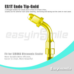 Wholesale ES1T Ultrasonic Scaler Endo File Holder Gold Tip degree chuck compatible with Sirona Ultrasonic Scaler