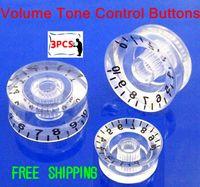 Wholesale Clear Speed Knob Volume Control Dial New Bridge Three