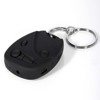 Wholesale New Mini DVR Car Key Chain Micro Camera Hidden Real HD P Pocket Camcorder GB Recorder