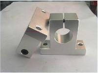 Wholesale 8pcs SK10 SH10A mm linear rail shaft support block for cnc linear slide bearing guide Parts D