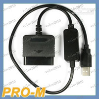 Wholesale LLFA1564 PS2 to PS3 USB Controller Converter adapter For PS