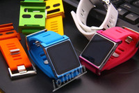 Wholesale 100pcs Colorful watch Luxury For ipod Nano Aluminum LunaTik Watch Kits Soft Silicon Band Wrist Strap Tiktok Lunatik via DHL