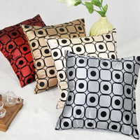 Wholesale 1002 new fashion colors baroque style silk sofa couch pillowcases cushion covers best decoration for room cm