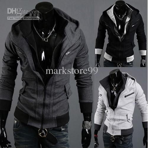 New Fashion Classic Men Slim Hoodie Men's Stylish Casual Zipper Sport Hoodies &Amp; Shirts From Markstore99, $49.9 | Dhgate.Com