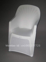 Wholesale White Arm spandex chair cover Beach chair covers