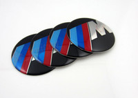 Wholesale New mm ABS Plastic Wheel Center Hub Caps Covers Badges Emblems Decals Stickers Symbol for BMW M Model Wholesales