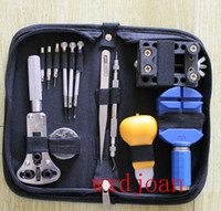 Wholesale 13PC Watch Repair Tool Kit Case Opener Link Remover Spring Bar Screwdriver Punch
