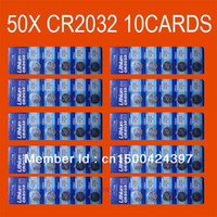 Wholesale 50x CR2032 BR2032 V LITHIUM BATTERIES