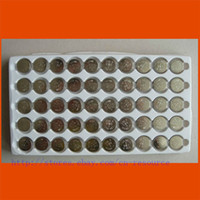 Wholesale 50 X AG10 LR1130 LR54 Button Cell Batteries tray