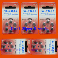 Wholesale 30 x Hearing Aid Batteries A13 A ZA13 PR48