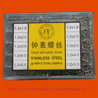 Wholesale 1000 Clock Watch Screw Stainless Steel Watchmaker