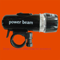 Wholesale New Waterproof LED Bike Head Light Power Beam Torch