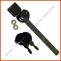 Wholesale Cabinet Drawer Display Case Showcase Sliding Glass Push Door Ratchet Lock Keys