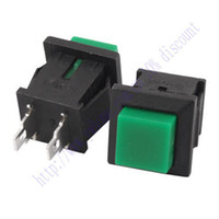 other   New 5 Pcs Green Square Momentary Push Button Switch No SPST 1A 125V AC DS 430