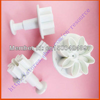 Wholesale New x DIY Daisy Cake Decorating Plunger Cutter Gum Sugarcraft Fondant Mold Tool to worldwide