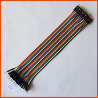 Wholesale New cm mm pin Male to Male Jumper Wire Dupont Cable for Arduino