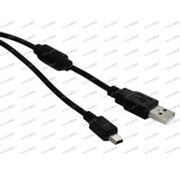 Wholesale LLFA1571 USB Charging Cable for Playstation PS3 Wireless Controller Data Transfer Cord for PSP Black