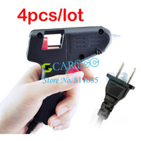 Wholesale 4PCS LOOT W Electric Glue Gun Heating Hot Melt Glue Gun Crafts Album Repair D mm