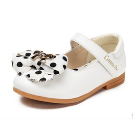 Wholesale Girls shoes princess soft leather shoes single shoes children s shoes