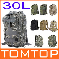 Wholesale 9 Colors L Outdoor Sports bag Tactical Military Backpack Molle Rucksacks for Camping H9388 Series