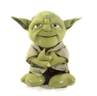 Wholesale Star Wars Yoda quot Plush Toy Cosplay Costume Soft Stuffed Doll