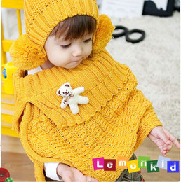 Wholesale Cute baby colored balls warm scarf scarves children
