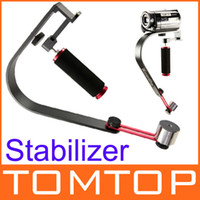Wholesale Smooth Video Stabilizer Handheld Handle Cam Grip Steadicam for DV Camcorder DSLR Camera D891