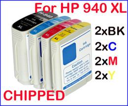 8 (2sets) cartouches d'encre avec puce pour HP940 HP 940 XL HP Officejet Pro 8000 sans fil HP Officejet Pro 8500 -CA909b / A909a / A909n / A909g