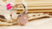 rose water - water jewlery stone rose gold lady s Ring SZ