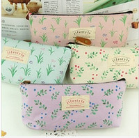 Fabric Pencil Bag China (Mainland) Free Shipping NEW cute form Pencil bag   cotton fabric pen & Cosmetic case   Fashion Gift   Who