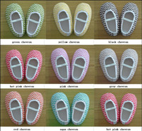 Wholesale New baby chevron crib shoes arrival color Fashion first walker shoes sizes Pairs