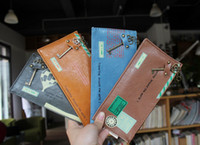 Leather pen pouch - NEW creative travel stamp Pencil bag Cosmetic amp pen Pouch case