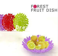 Wholesale Lovely Leaves Shape Fruit Candy Snack Nut Holder Tray Dish Decoration Plate
