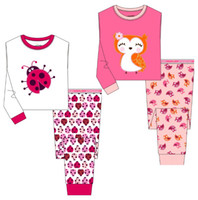 Wholesale Free Fast Shipping Jumping Beans Children s Pajamas Suit Toddler Sleeping wear PJ S Girl Pijama Sets Kids Pyjama Underwear M1757
