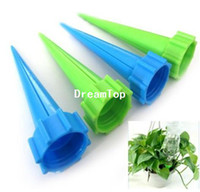 Wholesale 4X Automatic Watering Irrigation Spike Garden Plant Flower Drip Sprinkler Water