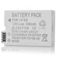Wholesale Canon D Compatible V mAh Battery Pack for Canon D