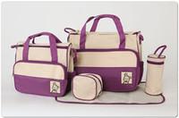 Wholesale diaper bag mummy packet baby bags nursery package Mama packs colors