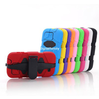 Wholesale New Three Proofings Waterproof Survivor Tough Case Silicon PC Colorful For Samsung Galaxy S4 i9500