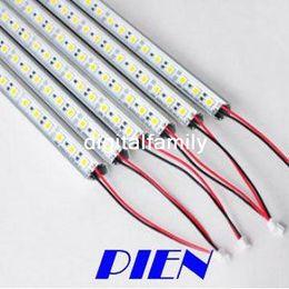 5630 LED Strip Cool White Warm White Hard Pixels Strip + End Cap 72 LEDs 1 meter Strip Light with