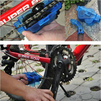 Wholesale Have Stock Cycling Bike Bicycle Chain Cleaner Machine Brushes Scrubber Wash Clean Tool Kit moutain bicycle chain cleaner kits H566