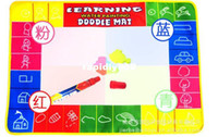 Wholesale Magic Doodle Mat Educational Aquadoodle Doodle Mat Water Drawing Replacement Mat of colors size75 CM shipping drop